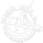 penguin suits logo white
